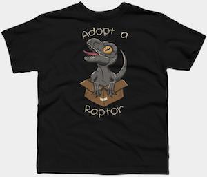 Adopt a Raptor T-Shirt