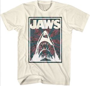 Jaws Negative Shark T-Shirt