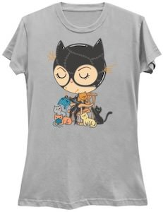 Catwoman Crazy Cat Lady T-Shirt