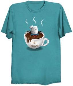 Hot Chocolate Marshamallow Man T-Shirt