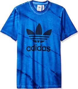 Tie Dye Adidas Logo T-Shirt