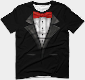 Dress Up Tuxedo T-Shirt
