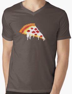 8 Bit Pizza T-Shirt