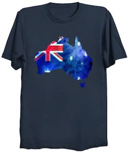 Australia And The Flag T-Shirt