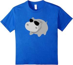 Cool Hippopotamus T-Shirt