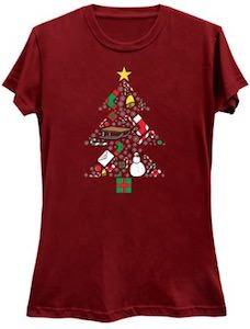 Presents In The Christmas Tree T-Shirt
