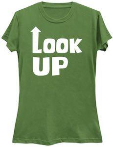 Women's Look Up T-Shirt