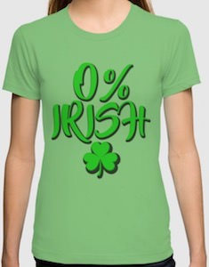 0% Irish T-Shirt