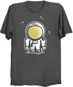 Cartoon Astronaut T-Shirt