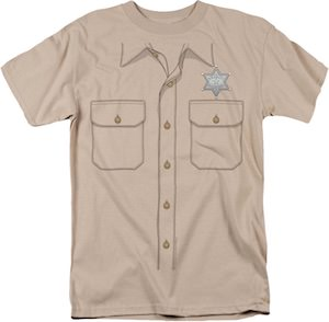 Sheriff Costume T-Shirt