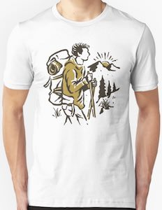Hiking In The Hills T-Shirt