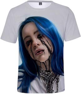 Billie Eilish Black Tears T-Shirt