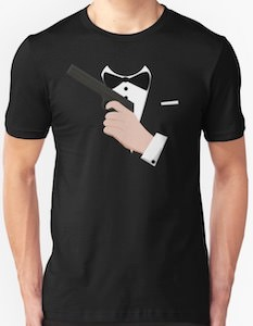 007 Tuxedo Costume T-Shirt
