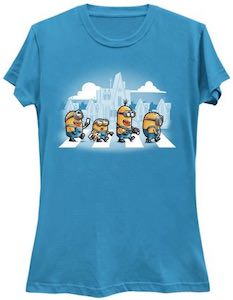 Minions Crossing The Street T-Shirt