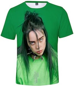Green Billie Eilish T-Shirt