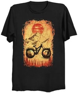 Riding The Mountains T-Shirt