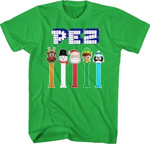 Special PEZ Holiday T-Shirt