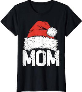 Santa Mom Christmas T-Shirt