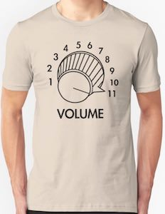 Volume At 11 T-Shirt