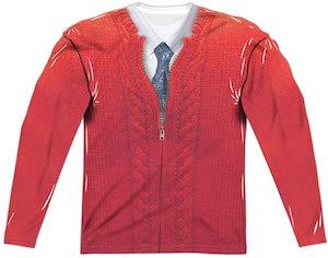 Mister Rogers Costume Long Sleeve T-Shirt