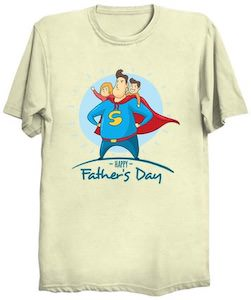 Happy Father's Day Dad And The Kids T-Shirt