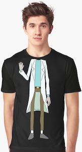 Mad Scientist Costume T-Shirt