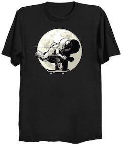 Astronaut on a Skateboard T-Shirt