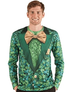 St Patrick's Day Shamrock Suite Costume