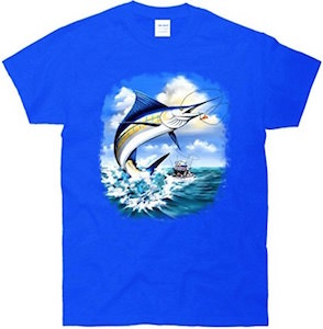 Marlin Fishing T-Shirt