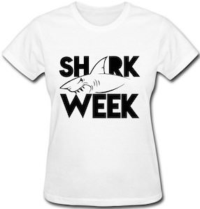 Women's Bitting Shark Week T-Shirt