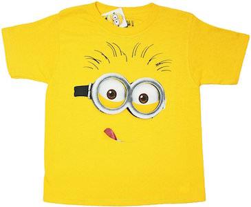 Minion Face Toddler T-Shirt