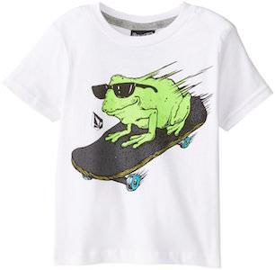 Skateboarding Frog Kids T-Shirt