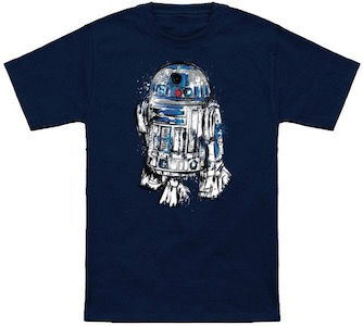 Star Wars Painted R2-D2 T-Shirt