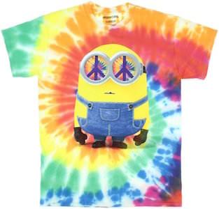 Hippie Minion Tie Die T-Shirt