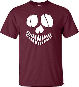 Skeleton Face T-Shirt