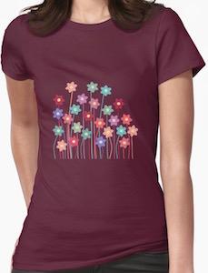 Field Of Flowers T-Shirt