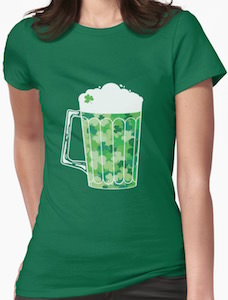 Shamrock Green Beer T-Shirt