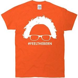 Feel The Bern Head T-Shirt