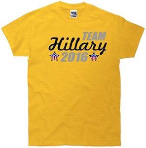 Team Hillary 2016 T-Shirt