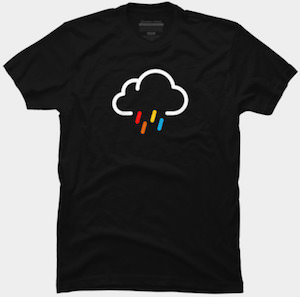 Rain Cloud Icon T-Shirt
