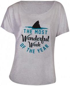 Shark Week The Most Wonderfull Week Of The Year T-Shirt