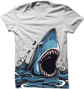 Shark Showing Up T-Shirt