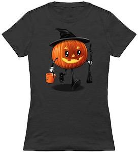 Pumpkin Trick Or Treat T-Shirt