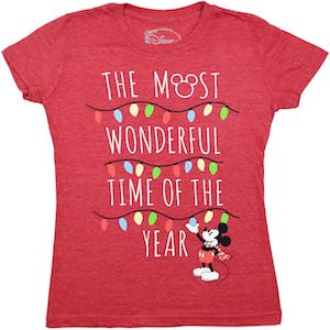 The Most Wonderful Time Of The Year Mickey Mouse T-Shirt