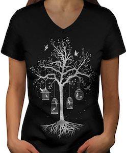 Bird Cage Tree T-Shirt