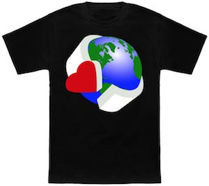 Love Earth By Wearing This T-Shirt