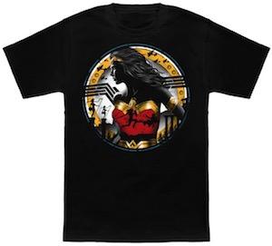 The Wonder Woman Shield T-Shirt