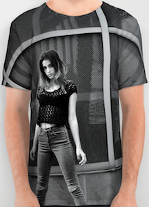 The Girl And Reflections T-Shirt