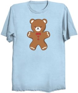 Gingerbread Bear T-Shirt