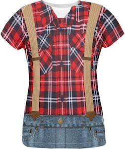 Women's Lumberjack T-Shirt